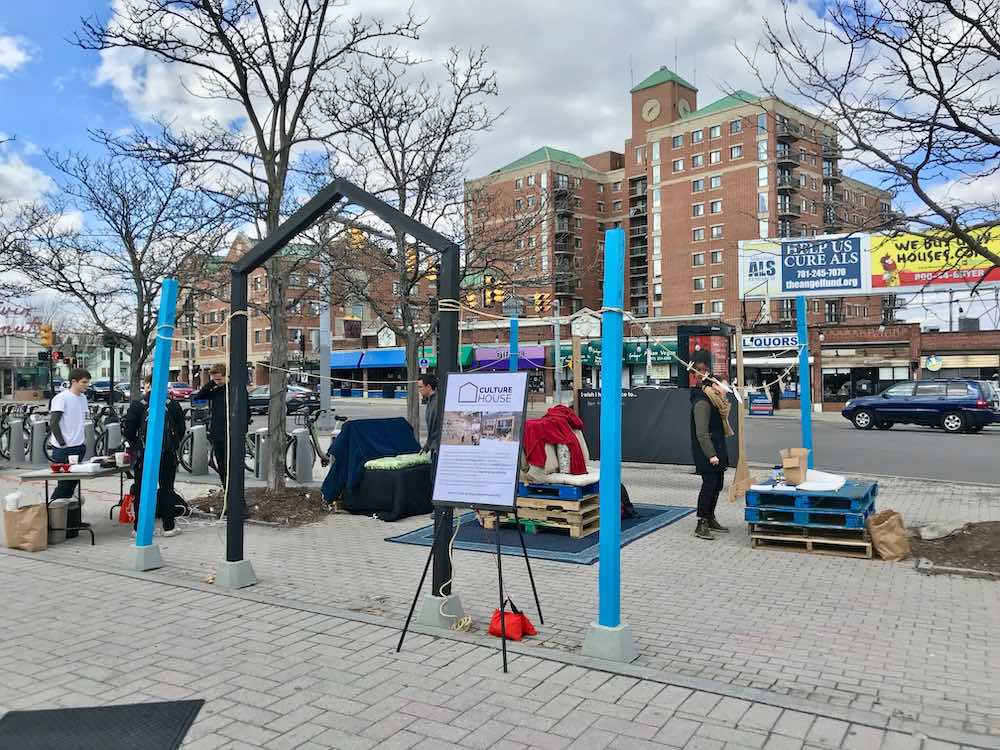 CultureHouse pop-up at Jackson Mann Plaza in Allston