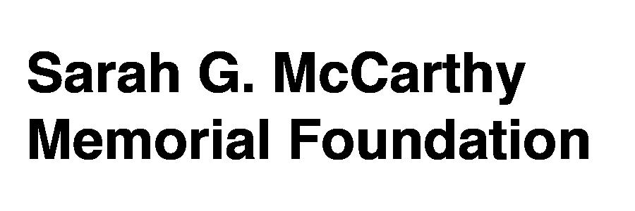 Sarah G. McCarthy Memorial Foundation logo