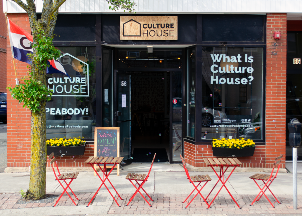 CultureHouse Peabody storefront